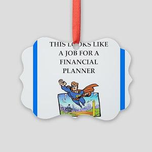 finanancial planner Ornament