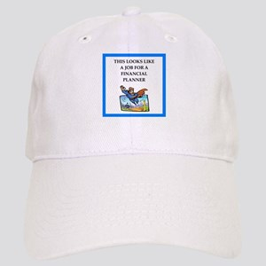 finanancial planner Baseball Cap