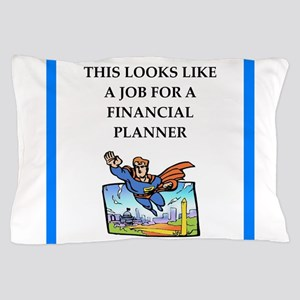 finanancial planner Pillow Case