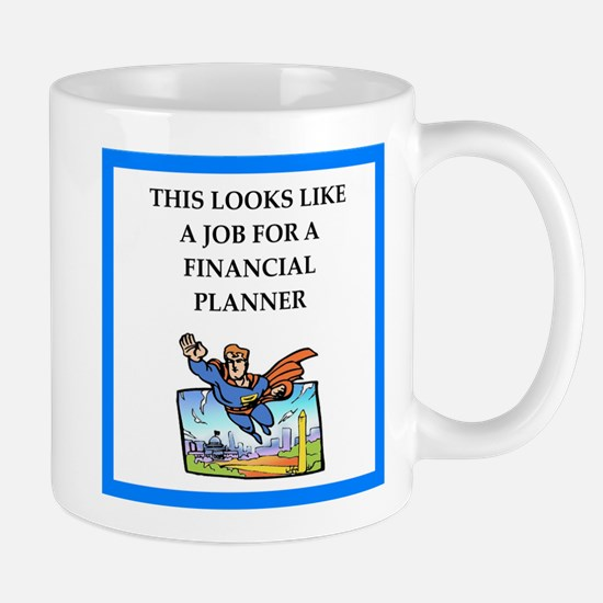 finanancial planner Mugs