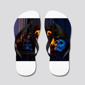 Glowing Smiles Flip Flops