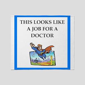 doctor Throw Blanket