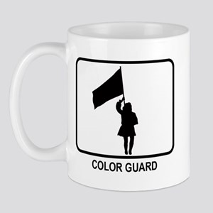 Color Guard (white) Mug