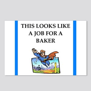 baker Postcards (Package of 8)