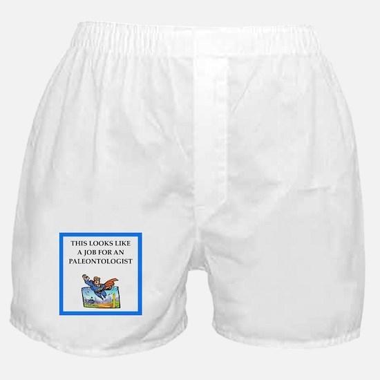paleontologist Boxer Shorts
