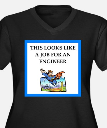 engineeer Plus Size T-Shirt