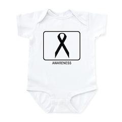 Awareness (white) Infant Bodysuit