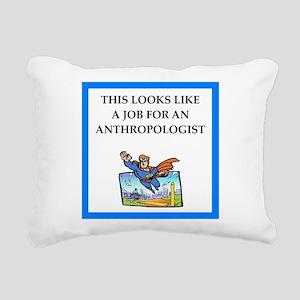 anthrpology Rectangular Canvas Pillow