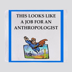 anthrpology Throw Blanket