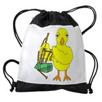 Bagpipe Chick Drawstring Bag