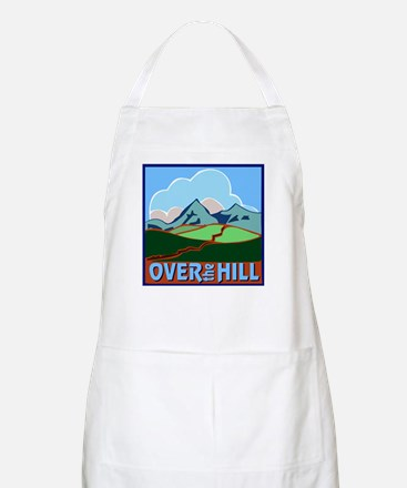 Over the Hill 5 BBQ Apron