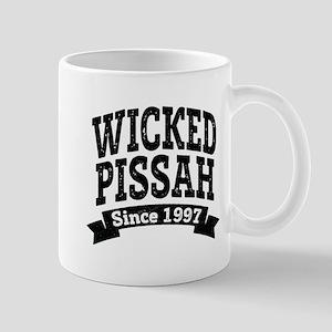 Wicked Pissah Since 1997 Mugs