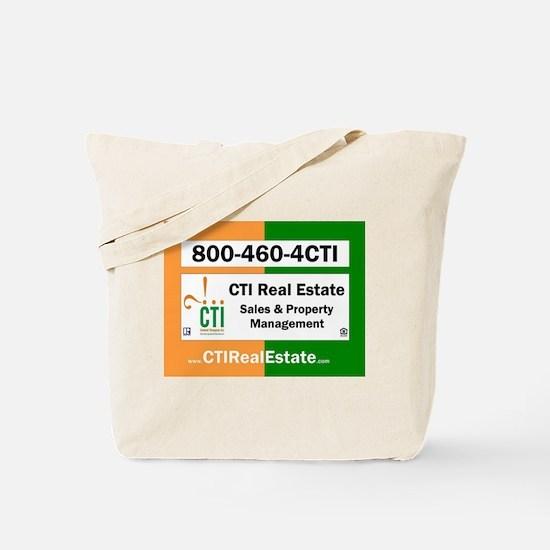 CTI Logo w Website Tote Bag