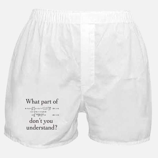 What Part of... Boxer Shorts