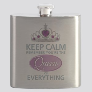 Queen of Everything Flask