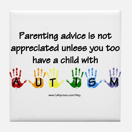 Autism Parenting Tile Coaster
