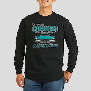Crystal's Carwash Long Sleeve Dark T-Shirt