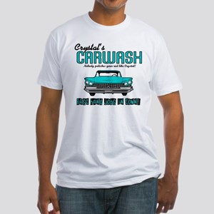 Crystal's Carwash Fitted T-Shirt