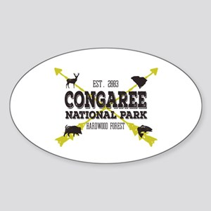 Congaree National Park Hog Sticker