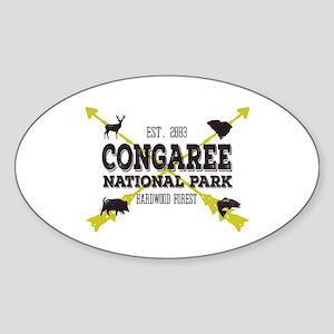 Congaree National Park Hog Sticker