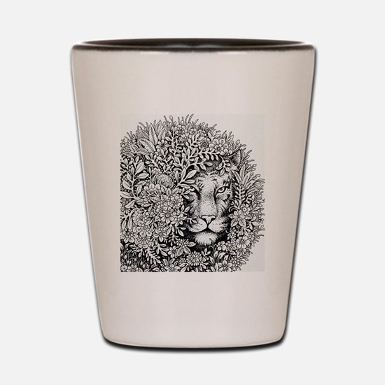 Lioness Shot Glass