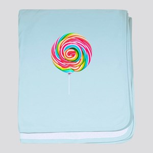 loliipop candy baby blanket