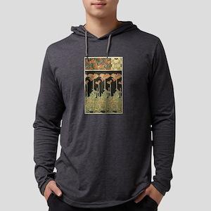 Alphonse Mucha Vintage Popular Long Sleeve T-Shirt