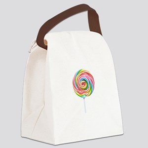 loliipop candy Canvas Lunch Bag