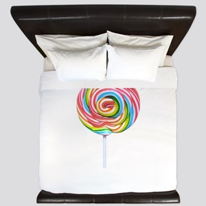loliipop candy King Duvet