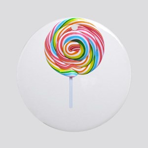 loliipop candy Round Ornament