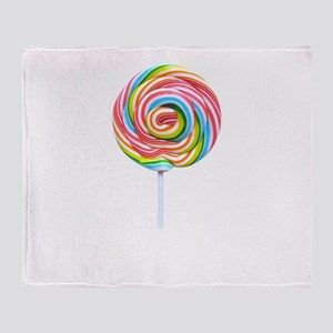 loliipop candy Throw Blanket