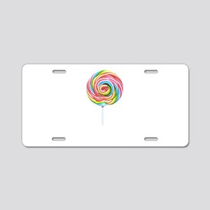 lollipop candy Aluminum License Plate