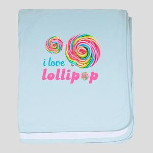 lollipop candy baby blanket