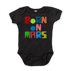Born on Mars Baby Bodysuit