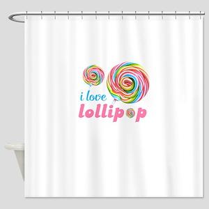 lollipop candy Shower Curtain