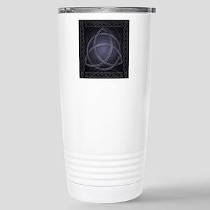 Celtic Knotwork Dragon Stainless Steel Travel Mug
