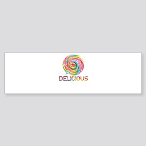 lollipop candy Bumper Sticker