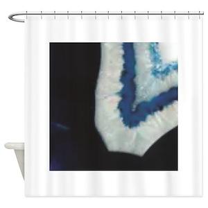 Sapphire Blue Shower Curtains
