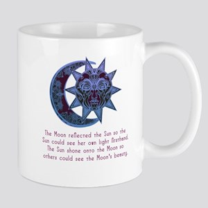 Sun loved the Moon 2 Mugs