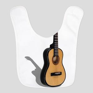 Guitar081210 Polyester Baby Bib