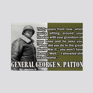 Patton Rectangle Magnet