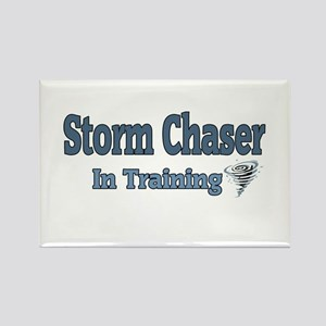 Storm Chaser In Training Rectangle Magnet