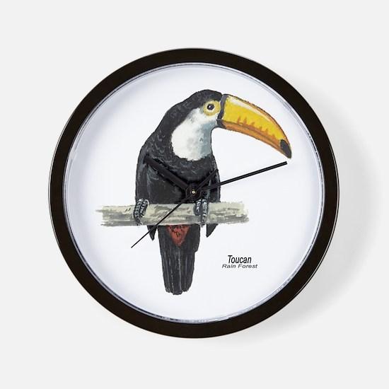 Toucan Bird Wall Clock