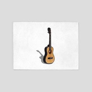 Guitar081210 5'x7'Area Rug