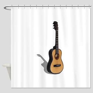 Guitar081210 Shower Curtain