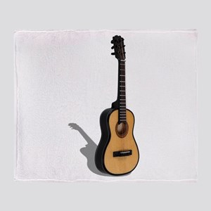 Guitar081210 Throw Blanket