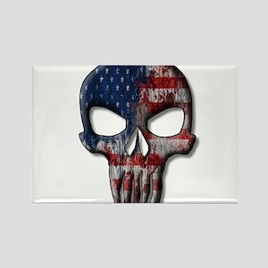 American Skull on light Magnets