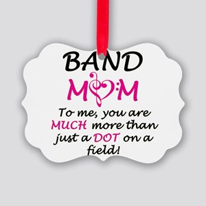 Band Mom Picture Ornament