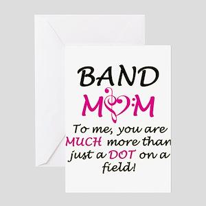 Band Mom Greeting Card
