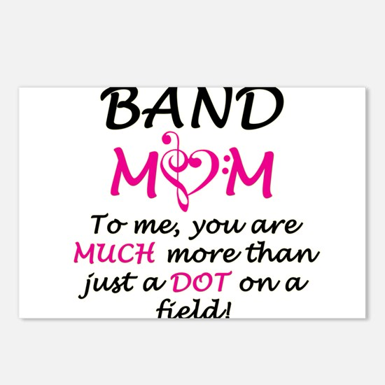 Band Mom Postcards (Package of 8)
